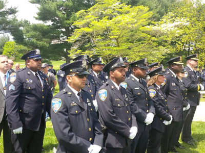 group of police officer at event